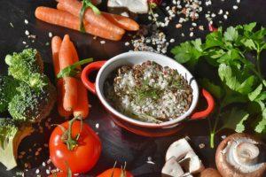 Muskelaufbau vegetarisch Ernährungsbasis