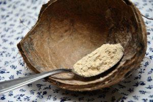 superfoods und clean eating - Maca Wurzel