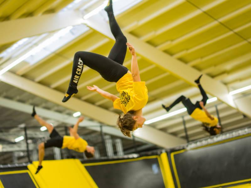 Fitness Geschenk - Trampolinhallen-Gutschein