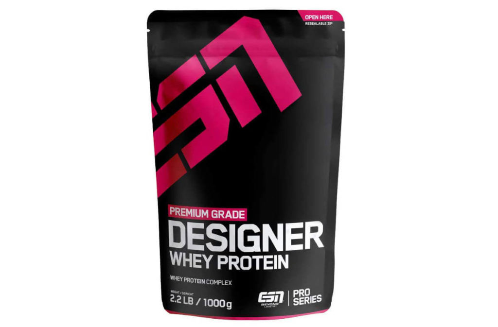 Fitness-Geschenk: Proteinpulver